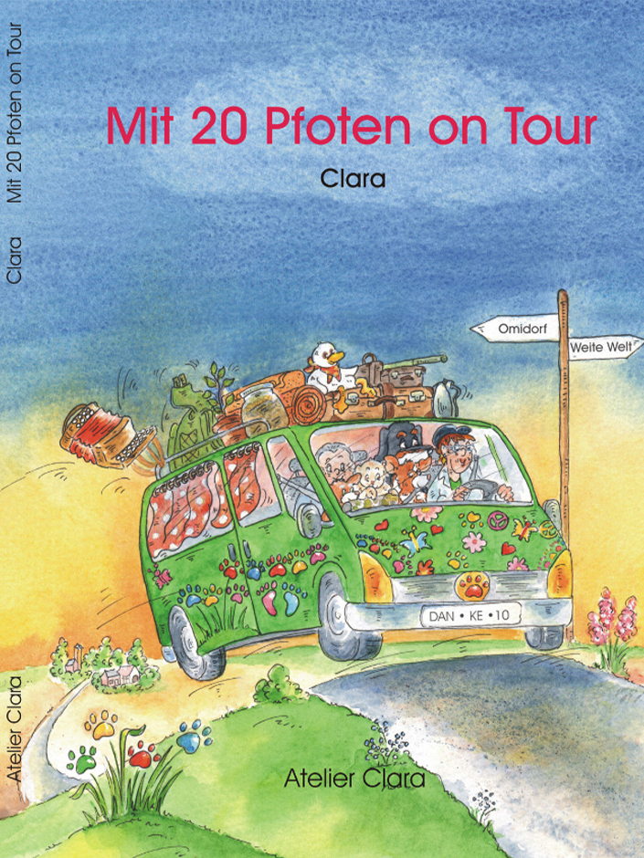 Mit 20 Pfoten on Tour